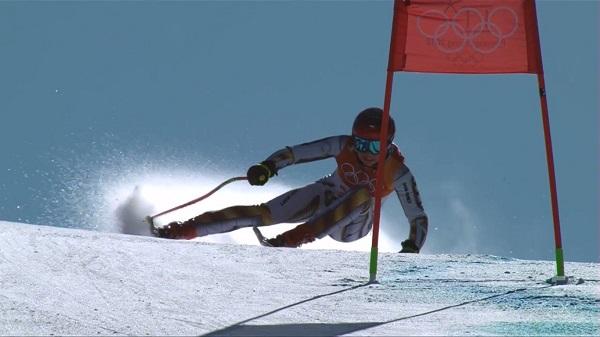 Arriesgando al límite, sabiendo que no tenía nada que perder, Ledecka es la nueva campeona olímpica de super G a sus 22 años