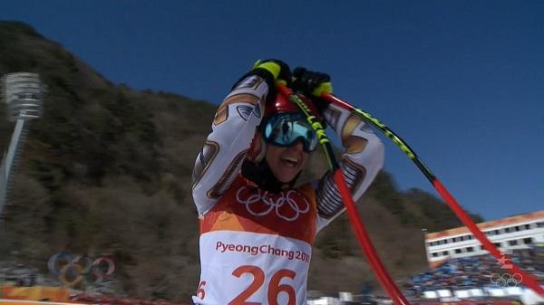 La checa Ester ledecka fue la gran sorpresa del esquí alpino en Pyeongchang al ganar el oro en el super G
