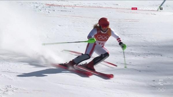 A sus 20 años la austriaca Katharina Gallhuber ha ganado el bronce confirmando que tiene un futuro más que prometedor