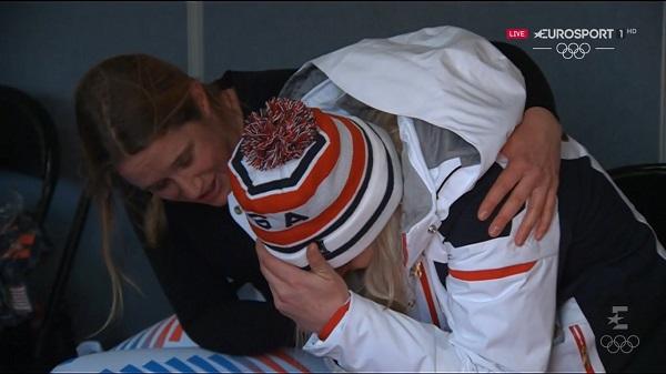 Lindsey Vonn, más lágrimas que medallas