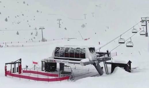 La nevada ha dejado esta impresionate estampa en Boí Taüll