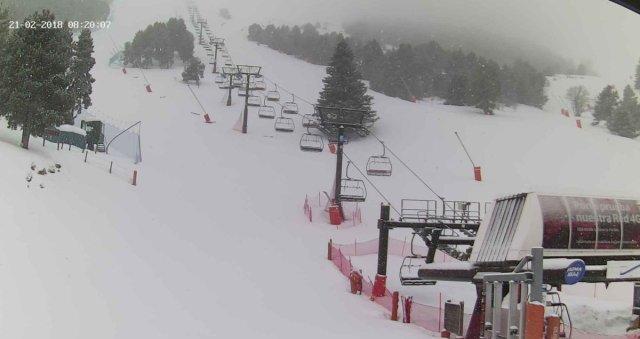 La nieve ha colmado de gloria la estación ceretana