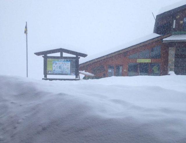 Vallter sigue cerrada hoy por la nieve
