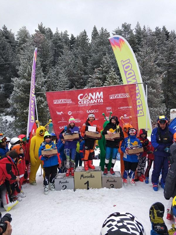 Cargol de Neu es la competición para alevines más antigua y este sábado celebró sus bodas de plata en Masella