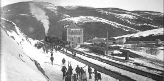 El tren y La Molina, una historia compartida que cumple 75 años. FOTO: Arxiu FGC
