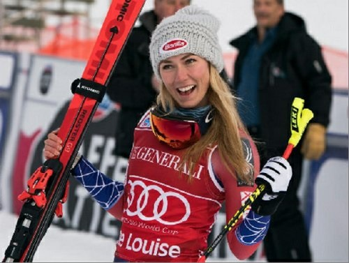 Mikaela Shiffrin, esquiadora eminentemente técnica, ha sido capaz esta temporada de ganar un descenso, el segundo de Lake Louise