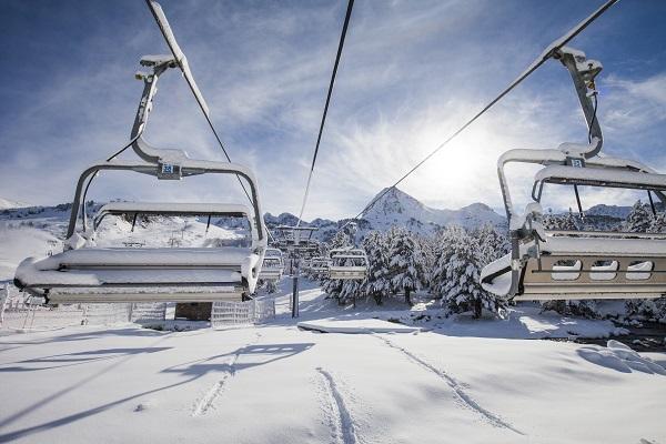 La estación de Grandvalira cuenta con una red de 71 remontadores que cubren algo más de 200 km esquiables FOTO: Grandvalira
