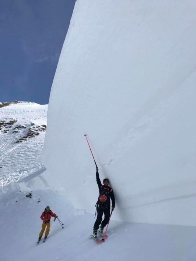 Una imagen de los Alpes de esta misma semana