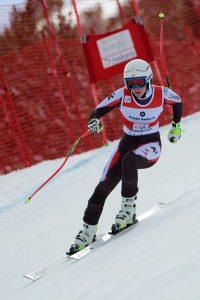Ariane Raedler, ganadora del descenso de las finales de Soldeu FOTO: @Oriol Molas