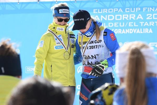 Haugen y Stjernesund FOTO: Gustavo Subilibia