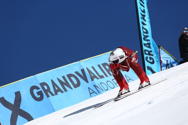 El italiano Origone ha salido como una bala por la pista Riberal de Grandvalira