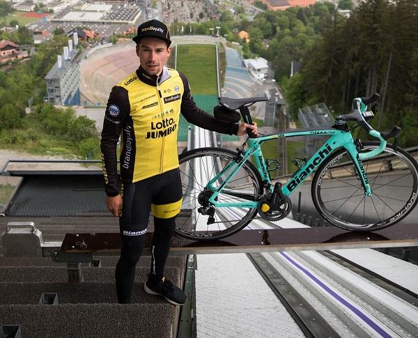 Roglic ha estado en Innsbruck para reconocer el trazado del próximo Mundial de ciclismo