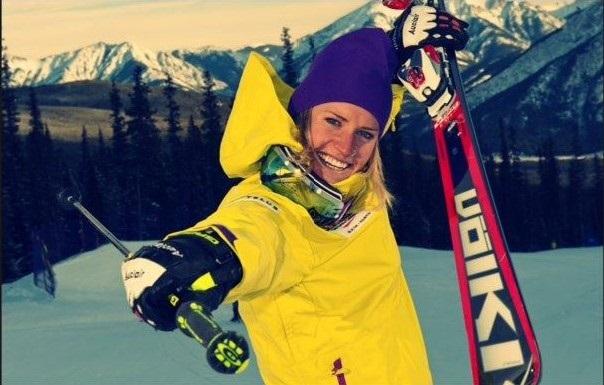 Georgia Simmerling ha competido en dos Juegos de Invierno, en esquí alpino y skicross, y en unos de Verano, en ciclismo en pista FOTO: Facebook Simmerling