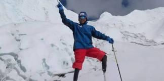 Xia Boye consiguió el permiso para subir al Everest el pasado mes de abril