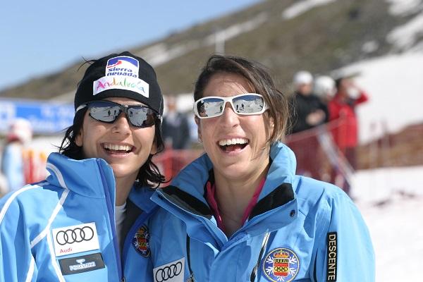 María José Rienda con Carolina Ruiz, dos granadinas de mucho peso