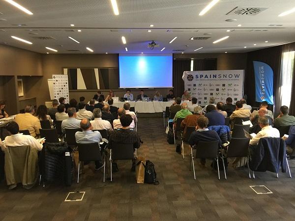 Aspecto de una Asamblea General de la RFEDI. FOTO: RFEDI Spainsnow