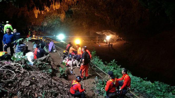 Horas de angustia en Tailandia