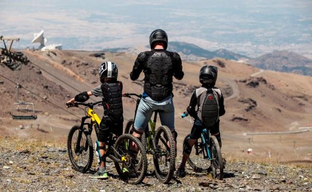 El bike park de Sierra Nevada, uno de los atractivos
