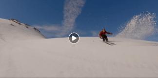 Las pistas de Val d'Isère vuelven a la carga con el esquí de verano, una semana antes de lo habitual por la cantidad de nieve