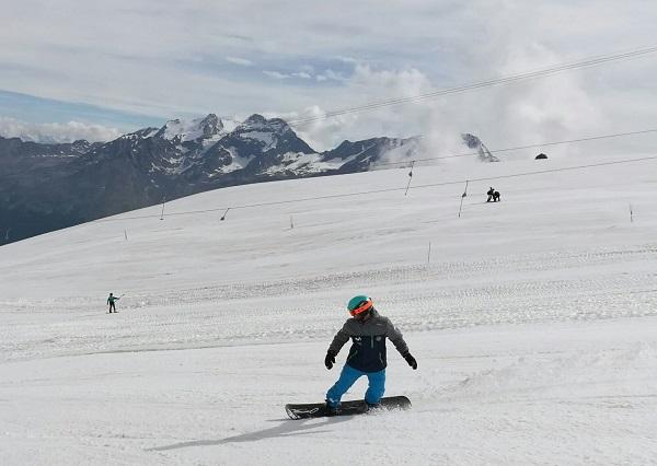 Saas Fee abrirá el trabajo de los entrenamientos sobre nieve, que proseguirá en Argentina y Finlandia. FOTO: RFEDI Spainsnow