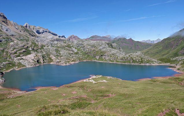 Imagen del ibón de Estanés (Huesca)