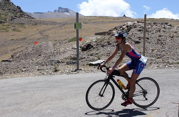 El Triatlón de Sierra Nevada está considerado como uno de los más duros del mundo debido a la altitud a la que se disputa FOTO: Cetursa/Sierra Nevada