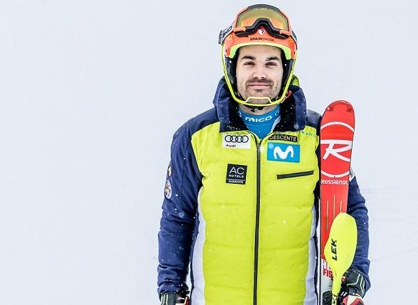 Quim Salarich se muestra ambicioso y uno de sus retos es acabar en entre los 20 primeros del slalom del Mundial de Are. FOTO: RFEDI Spainsnow