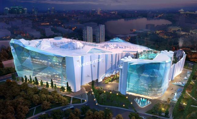 La estación indoor china será tres veces más grande que el Ski Dubai
