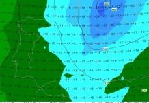 Las temperaturas bajarán unos 10 ºC a partir del lunes