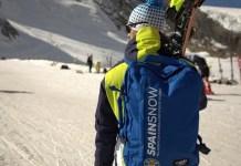 La mochila Cabin Zero, que equipará a los deportistas de la RFEDI, se pondrá a la venta a finales de mes. FOTO: RFEDI Spainsnow