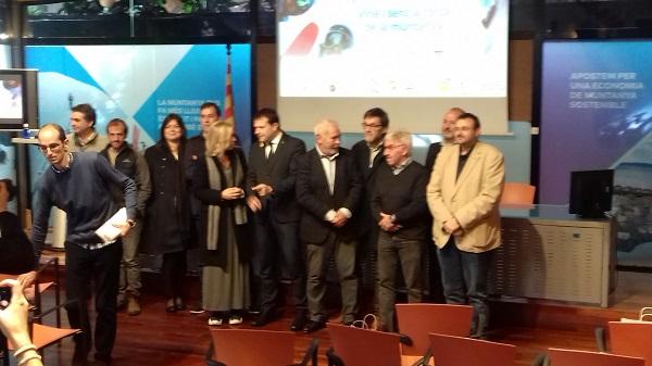 Presentación del Let's snow BCN 18 este mediodía en Barcelona