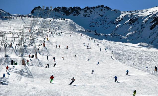 Zona esquiable de Val Senales
