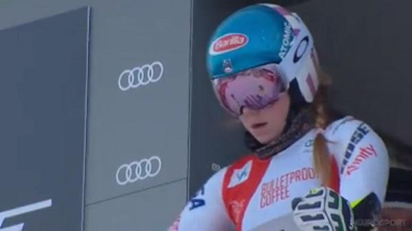 Mikaela Shiffrin se ha quedado a 21 centésimas del podio. Mañana buscará su tercera victoria en un slalom en Killington