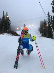 Quim Salarich disputará el domingo el slalom de Levi. FOTO: RFEDI/Spainsnow