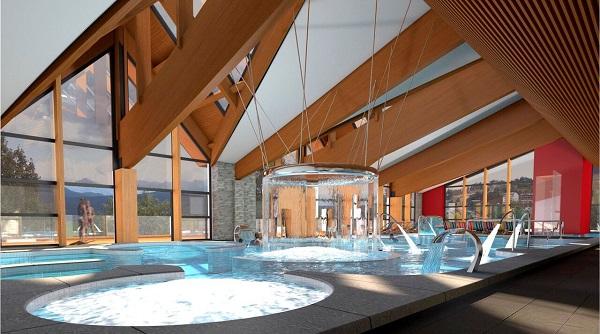 Angleo es la joya de la corona de Les Angles, un centro termal inaugurado esta temporada