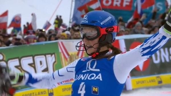 Conclusiones más que positivas para Petra Vlhova de los dos días en Semmering.