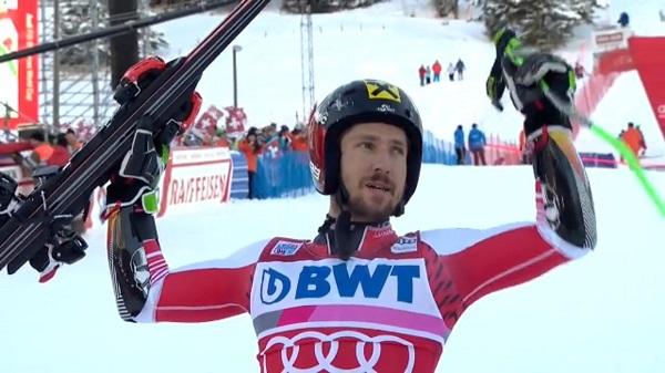 Con ocho victorias, Hirscher es el esquiador más laureado en Adelboden.