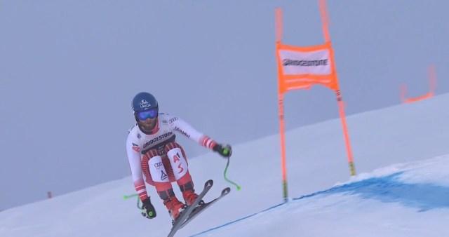 Schwarz ha arriesgado lo indecible en el descenso de la Lauberhorn y se ha llevado la victoria.