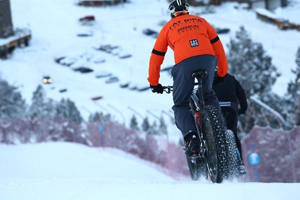 Ya se han abierto las inscripciones para el Snowbike Grandvalira, el segundo fin de semana de marzo. FOTO: Eugenio Cabaleiro