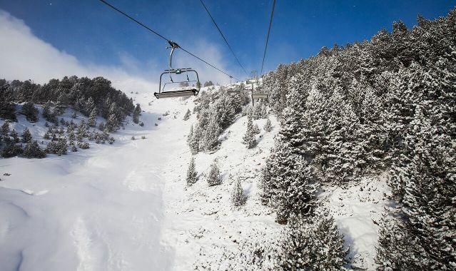 El frío ha disparado las ganas de esquiar