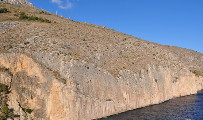 Una imagen de la sierra de Toix en Calpe