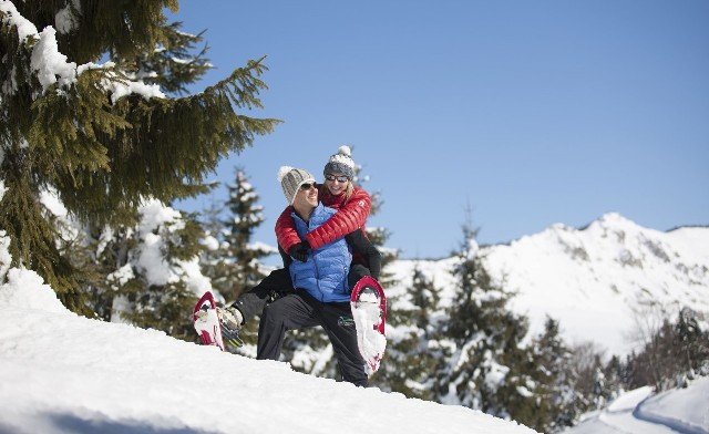 Enamorarse en la nieve para San Valentín
