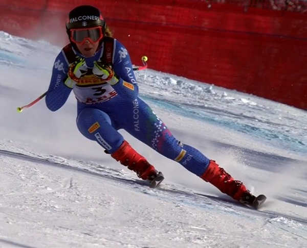 Sofia Goggia se ha llevado la plata en un super G muy disputado.