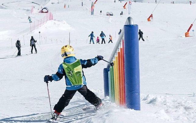 Los esquiadores del futuro
