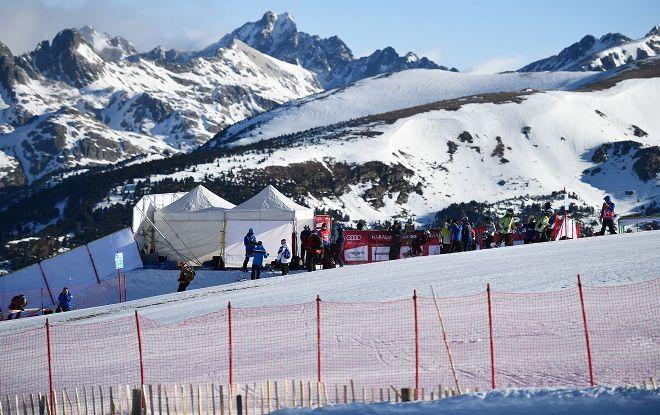 Una imagen de la pista de competición
