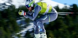 Kjetil Jansrud, campeón del mundo de descenso, ha marcado terreno ya en el primer entrenamiento. FOTO: Grandvalira