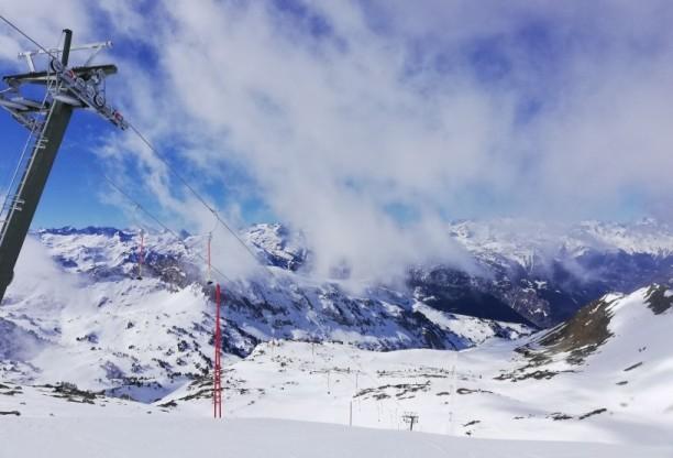 La nueva área ha subido la estación hasta los 2.610 m