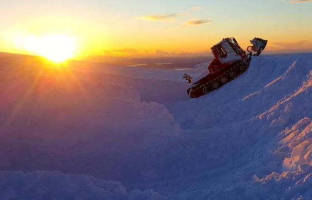 La gran cantidad de elemento blanco impide la apertura de las pistas en invierno