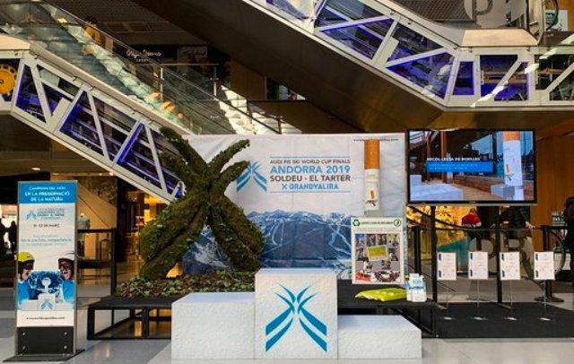 Campeones del mundo en la preservación de la naturaleza, parte de los actos de las finales alpinas