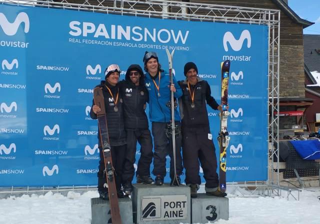 Junto a Magnin y Lliso, Eukeni Isasi completó el podio